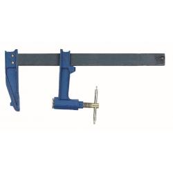 Schraubzwinge, Stahl, T-Griff, 250x120 mm