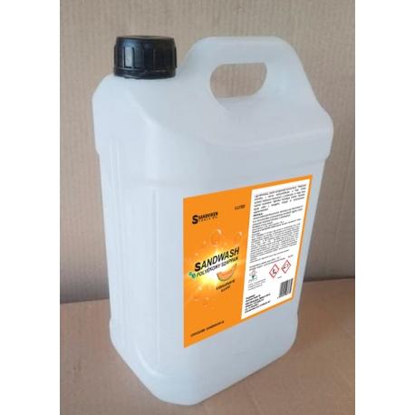 SANDWASH Folyékony kézmosó - Sárgadinnye illatú, 5L