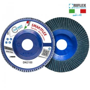 FERVI 125/Z60 Lamellás csiszolókorong, SMARTFLEX, egyenes, Z60