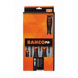 BAHCOFit csavarhúzó készlet, 6 részes, PH/Lapos