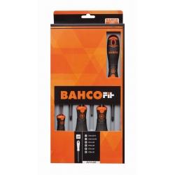 BAHCO Fit csavarhúzó készlet, 6 részes