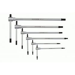 BAHCO T-Type Hex Key Wrench Set-6pcs