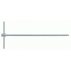 """BAHCO T-hajtószár izzítógyertya kiszedéshez, 1/4"""", 400mm"""