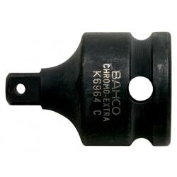 """BAHCO Erősített dugókulcs adapter, 1/2""""-3/8"""""""