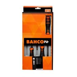 BAHCOFit csavarhúzó készlet, Lapos+PH, 5 részes