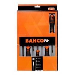 BAHCO Bahcofit Screwdriver Set, 7 Pcs