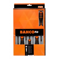 BAHCO Fit csavarhúzó készlet, PZ+TORX®, 7 részes