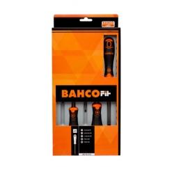 BAHCO Fit csavarhúzó készlet, Lapos/PZ, 5 részes