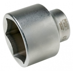 "Standard length sockets, 1"" square drive, 63MM"