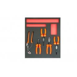 BAHCO 2/3 Szerszámszivacs modul, fogókészlet, 5 részes