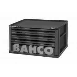 BAHCO 4 Fiókos Felsőszekrény (Üres), FEKETE (RAL-9005)