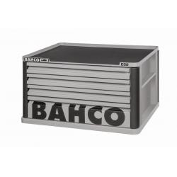 BAHCO 4 Fiókos Felsőszekrény (Üres), SZÜRKE, (RAL-9022)