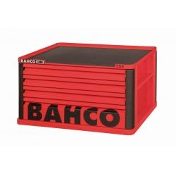 BAHCO 4 Fiókos Felsőszekrény (Üres), PIROS (RAL-3001)