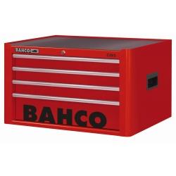 BAHCO 4 Fiókos Felsőszekrény, C85 Classic sorozat, üres, PIROS (RAL-3001)