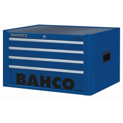 BAHCO 4 Fiókos Felsőszekrény, C85 Classic sorozat, üres, KÉK (RAL-5002)