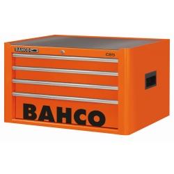 BAHCO 4 Fiókos Felsőszekrény, C85 Classic sorozat, üres, NARANCSÁRGA (RAL-2009)