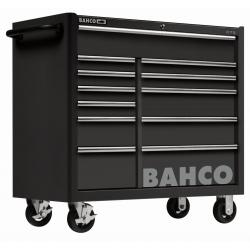 BAHCO 12 fiókos C75 Classic szerszámkocsi, üres, FEKETE (RAL-9005)