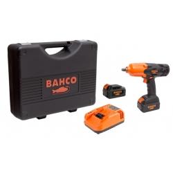 """BAHCO 1/2"""" Akkus ütvecsavarozó készletben, 590Nm, 18V"""