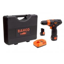 """BAHCO 3/8"""" Akkus kézifúrógép készletben, 1550 Ford/perc, 12V"""