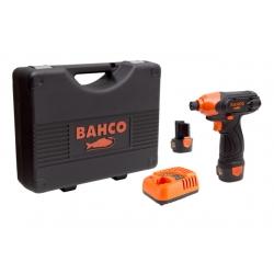 "BAHCO 1/4"" Akkus gyorstokmányos ütvecsavarozógép, 105Nm, 12V"