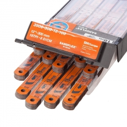 3906-300-32-100, Hand hacksaw blade SANDFLEX BIMETALL 300MM 32 TPI