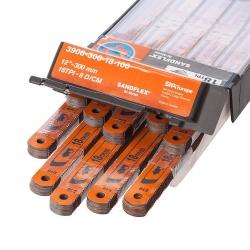BAHCO Kézi fémfűrészlap, Sandflex® Bi-metal + Kobalt, 18TPI/300mm, 5db-os kiszerelés