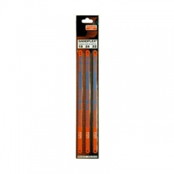 BAHCO Kézi fémfűrészlap, Sandflex® Bi-metal + Kobalt, 18/24/32TPI/300mm, 3db-os kiszerelés