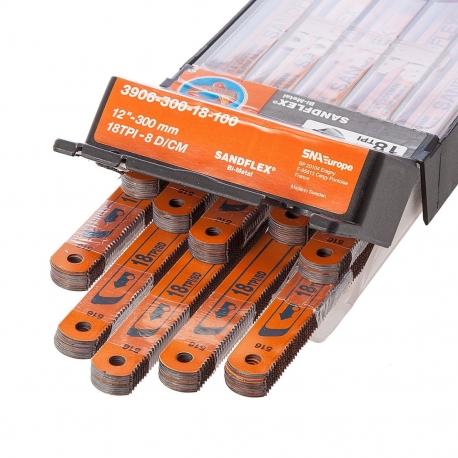 BAHCO Kézi fémfűrészlap, Sandflex® Bi-metal + Kobalt, 24TPI/300mm