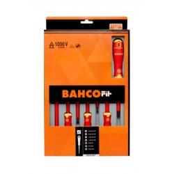 BAHCO Bahcofit Insulated Screwdriver Set, 7 Pcs