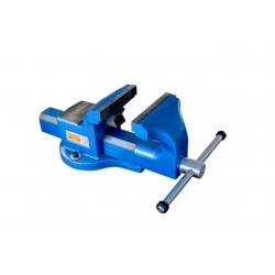 Heavy duty square guide bench vice, 125mm
