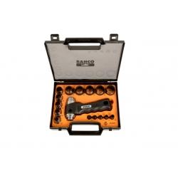 BAHCO Tömítéskivágó készlet, 3-30 mm, 16 részes