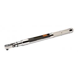 """BAHCO 3/8"""" Digitális szögmérős nyomatékkulcs, USB, 7-135 Nm"""