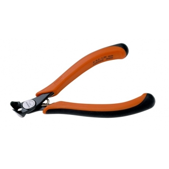 BAHCO Homlokcsípő fogó, 119mm, vágási kapacitás: 0.3-1.25mm, vágáskép: Flush