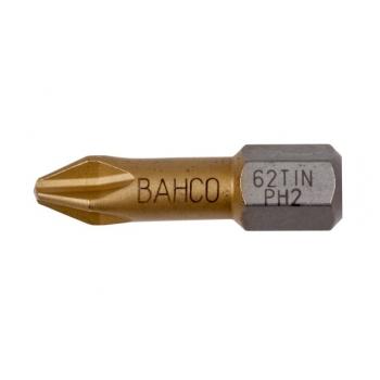 BAHCO Titán bit PH2 csavarokhoz, 25mm, 10db/csomag