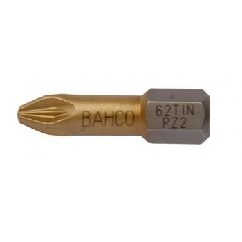 BAHCO Titán bit PZ1 csavarokhoz 25mm,bliszteres csomagolásban, 2db/csomag