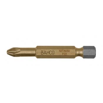 BAHCO Titán bit PZ3 csavarokhoz, 50mm, bliszteres csomagolásban, 2db/csomag
