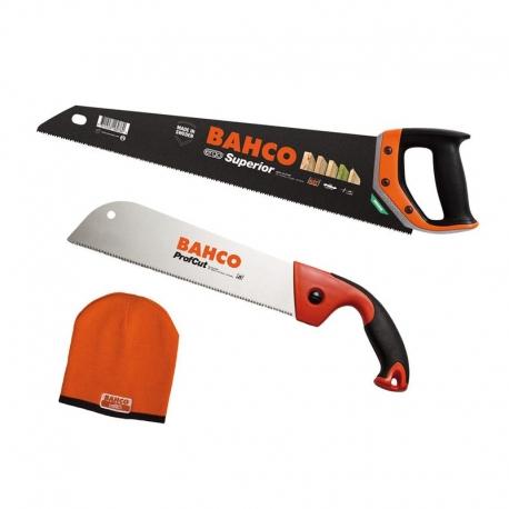ERGO™ Kézifűrész- 475mm + Japánfűrész- 300m + ajándék sapka