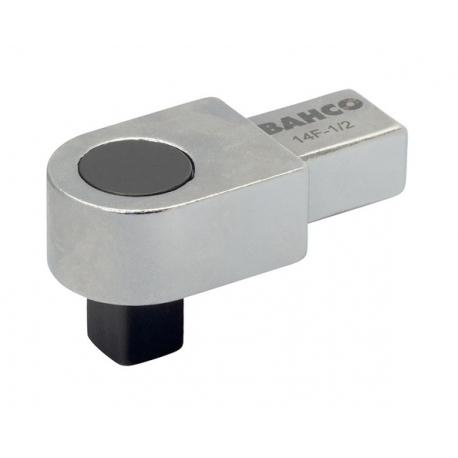 """BAHCO 1/4"""" Rögzített négyszög behajtófej, 9x12mm, 70g"""