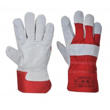 Prémium bőrkesztyű A220 PORTWEST Szín: piros, Méret: XL