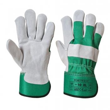 Prémium bőrkesztyű A220 PORTWEST Szín: zöld, Méret: 3XL