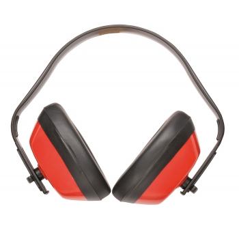 Hagyományos fülvédő PW40 PORTWEST Szín: piros, Méret: -