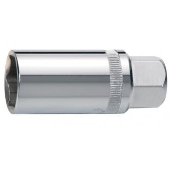 """BAHCO Gyújtógyertya dugókulcs, mágneses, 3/8"""" négyszög, Hex profil, 16mm/5/8"""""""
