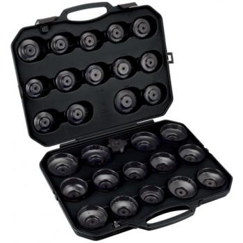 BAHCO Olajszűrő leszedő csésze/kupak készlet 30 részes
