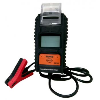 BAHCO 6 & 12V Akkumulátor teszter nyomtatóval