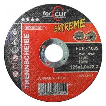 125*1 Vágókorong FOR CUT Profi Extreme fém-inox