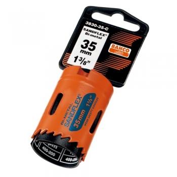 BAHCO Körkivágó viszonteladói csomagolásban, Sandflex® bimetál, 121mm