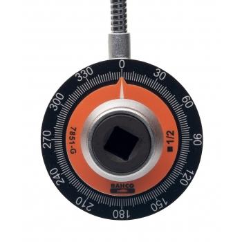 """BAHCO 3/4"""" Nyomatékszögmérő, mágnessel, 490mm"""