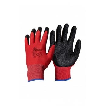 Védőkesztyű RW-Rlatex, Szín: piros, Méret: XL (10-es) 3.1.3.1.X