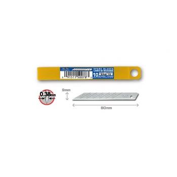 OLFA SAB-10 Standard tartalékpenge, 9mm,10db/csomag