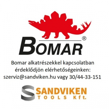 BOMAR Alkatrész: lapvezető tömb jobb oldal (201.4810-100)